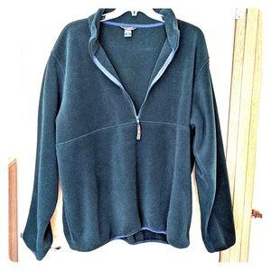 LL Bean Fleece jacket.